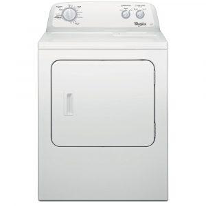 Whirlpool 3LWED4705FW 15kg American Vented Dryer - WHITE