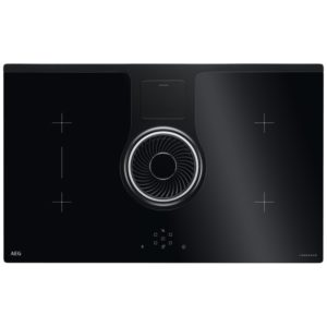 Elica NIKOLATESLA RC 83cm Recirculating Air Venting Induction Hob – BLACK