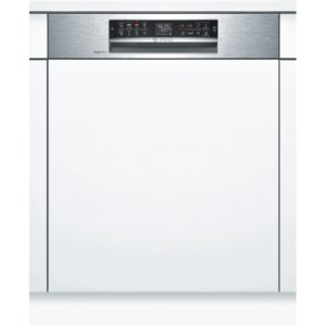 Bosch SMI68TS06E Serie 6 60cm Semi Integrated Dishwasher - STAINLESS STEEL