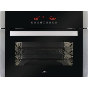 CDA VK702SS Built In Compact Steam Oven With Grill - STAINLESS STEEL