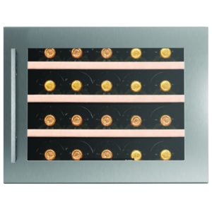Caple WC6400 46cm Integrated In Column Wine Cooler - STAINLESS STEEL