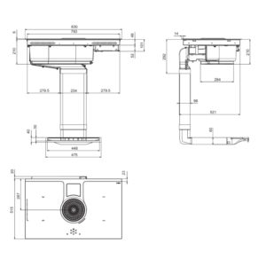 elica nikolatesla hp rc 83cm recirculating air venting. Black Bedroom Furniture Sets. Home Design Ideas