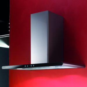 Elica GALAXY LED BLK 80cm Shallow Depth Chimney Hood – STAINLESS STEEL