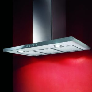 Elica GALAXY LED WH 80cm Shallow Depth Chimney Hood – STAINLESS STEEL