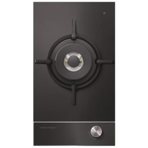 Fisher Paykel CG301DNGGB1 30cm Dual Burner Gas On Glass Hob – BLACK