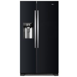 Haier HRF-630IB7 American Style Fridge Freezer With Ice & Water – BLACK