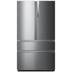 Haier HB25FSSAAA French Style 4 Door Fridge Freezer – STAINLESS STEEL