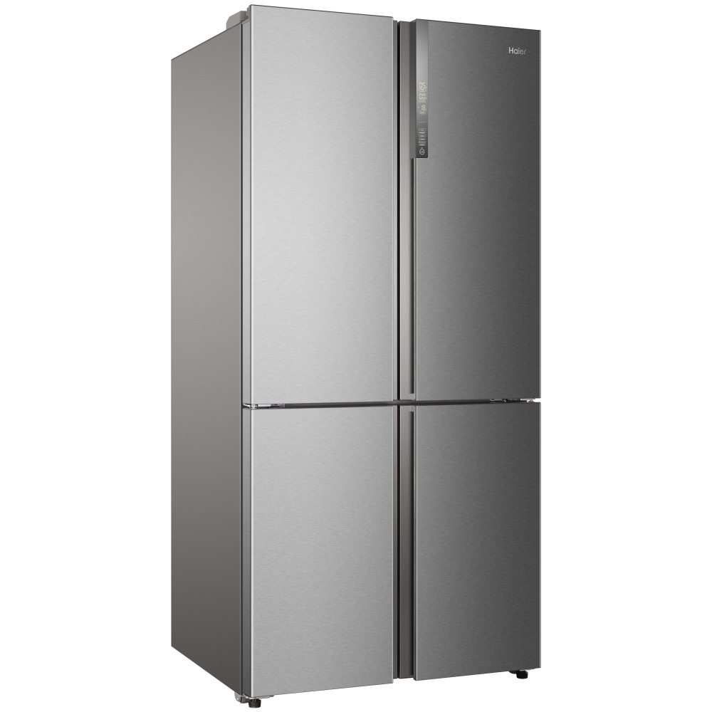 haier htf 610dm7 cube series american style four door fridge freezer stainless steel. Black Bedroom Furniture Sets. Home Design Ideas