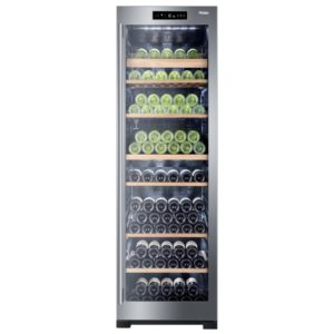 Haier WS151GDBI 60cm Freestanding Dual Zone Wine Cooler - STAINLESS STEEL