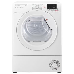 Hoover DXC8DE 8kg Condenser Tumble Dryer - WHITE