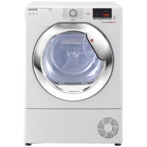 Hoover DXC9DCE 9kg Condenser Tumble Dryer - WHITE