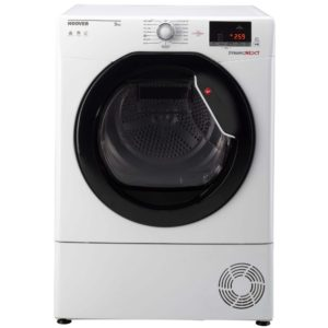 Hoover DXC9DKE 9kg Condenser Tumble Dryer - WHITE