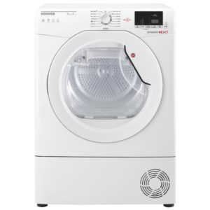 Hoover DXH9A2DE 9kg Heat Pump Condenser Tumble Dryer – WHITE