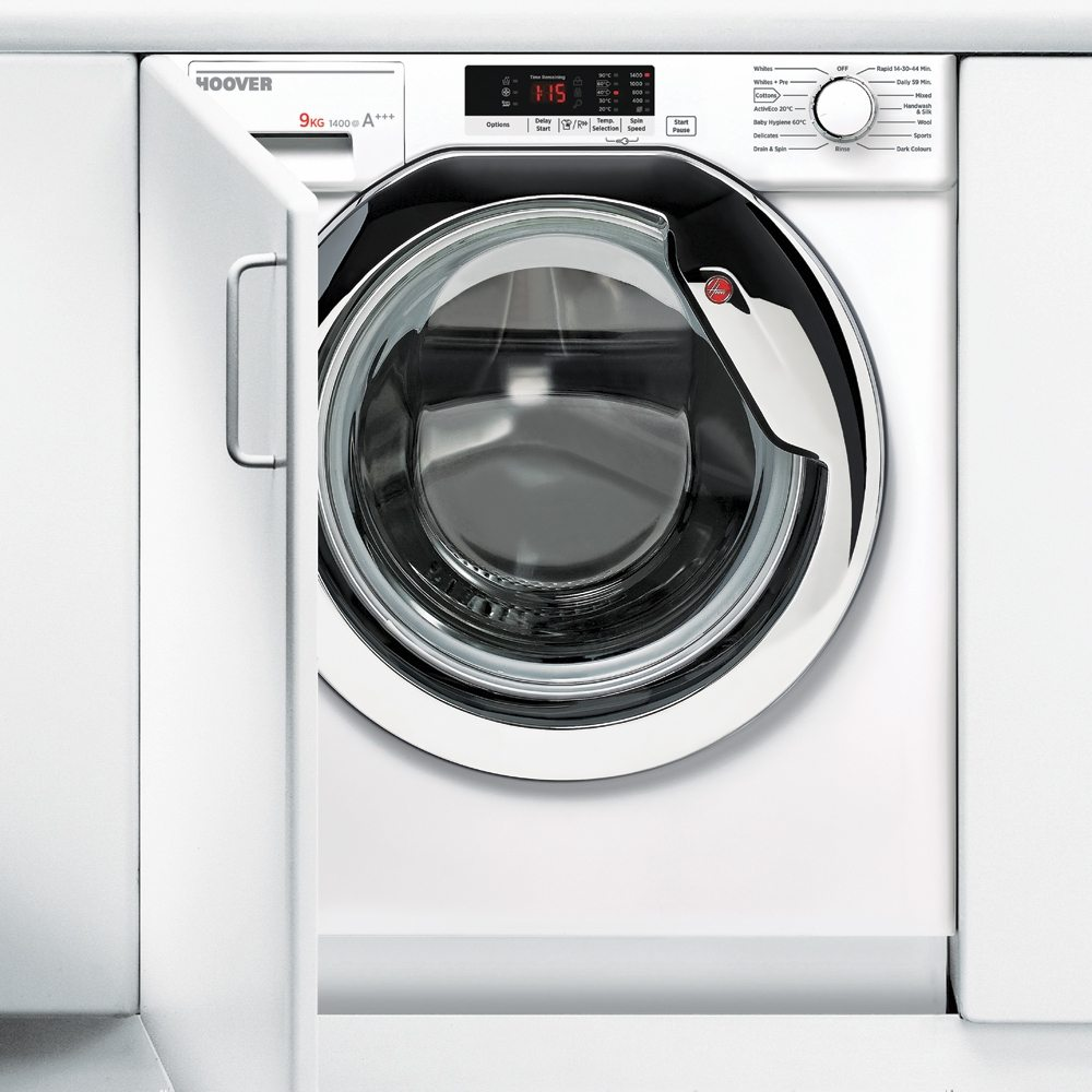 Hoover Hbwm914sc 80 9kg Fully Integrated Washing Machine