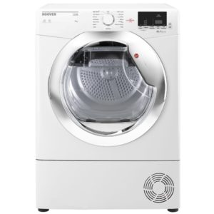 Hoover HLC9DCE 9kg Condenser Tumble Dryer - WHITE