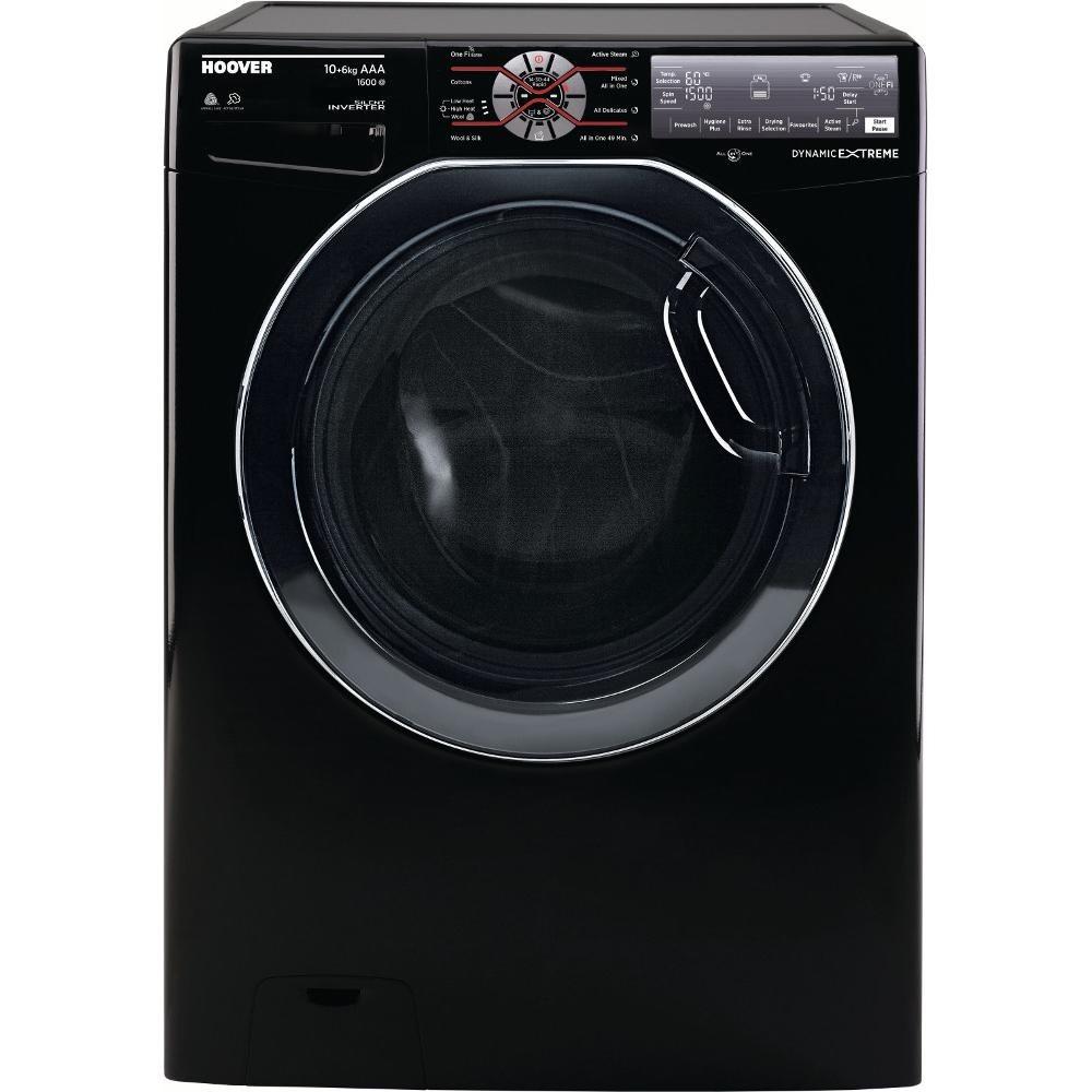 Hoover Wdwft6106ahb 10kg Washer Dryer Black Appliance City Washing Machine Wiring Diagram