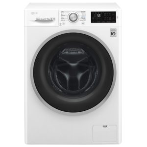 LG F4J6TM1W 8kg Direct Drive Washer Dryer - WHITE