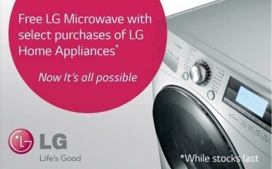 LG Microwave Promotion