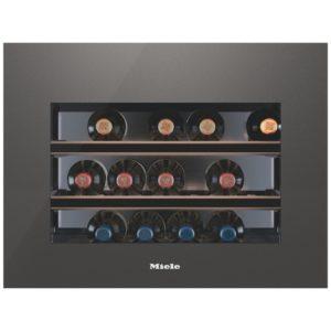 Miele KWT6112IGEDGRGR 45cm Integrated In Column Wine Cooler - GRAPHITE