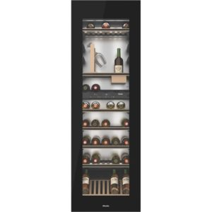 Miele KWT6722IGS 178cm Integrated In Column Wine Cooler – BLACK Miele KWT6722IGS 178cm Integrated In Column Wine Cooler – BLACK