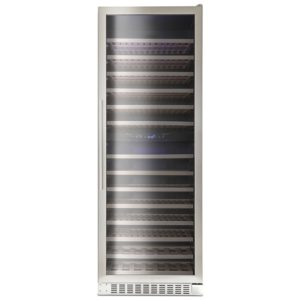 Montpellier WS181SDX 66cm Dual Zone Wine Cooler - STAINLESS STEEL