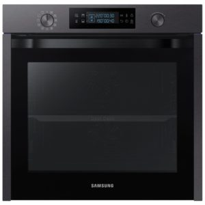 Samsung NV75K5571RM-EX DISPLAY Built In Pyrolytic Dual Cook Single Oven – BLACK