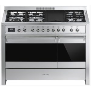 Smeg A3-81 A3 120cm 'Opera' Dual Fuel Range Cooker – STAINLESS STEEL
