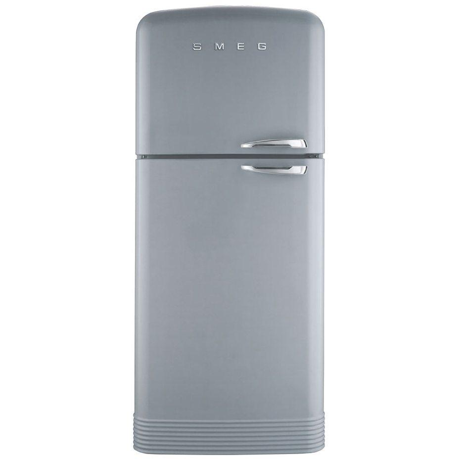 smeg fab50lsv retro top mount frost free fridge freezer. Black Bedroom Furniture Sets. Home Design Ideas