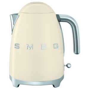 Smeg KLF03CRUK Retro Kettle - CREAM