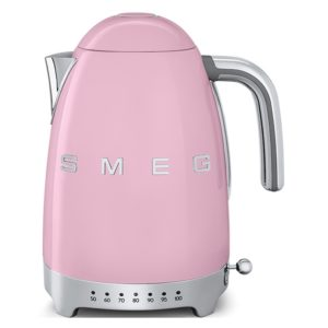 Smeg KLF04PKUK Retro Variable Temperature Kettle – PINK