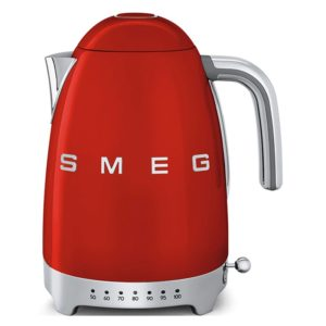 Smeg KLF04RDUK Retro Variable Temperature Kettle - RED