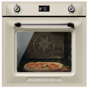 Smeg SFP6925PPZE1 Victoria Built In Single Pyrolytic Oven – CREAM