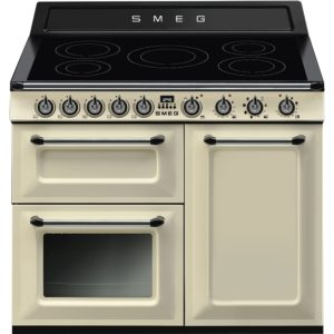 Smeg TR103IP 100cm Victoria Induction Range Cooker - CREAM