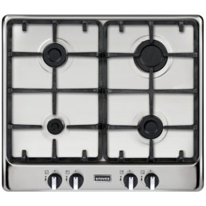 Stoves RICH600GHSTA 60cm 4 Burner Gas Hob – STAINLESS STEEL