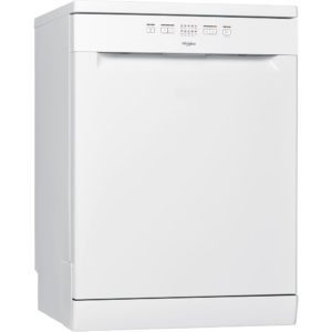 Whirlpool WFE2B19UK 60cm Freestanding Dishwasher - WHITE