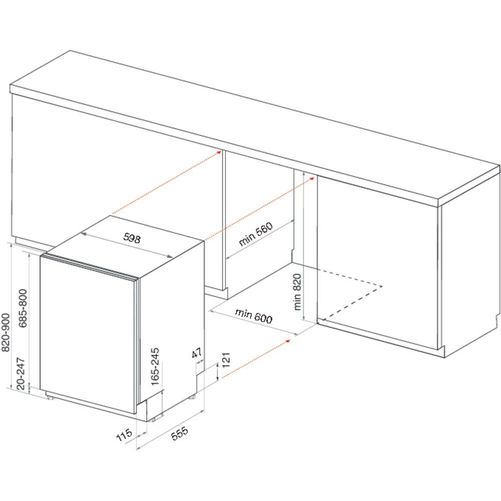 Whirlpool Wio3o43dlsuk 60cm Fully Integrated Dishwasher Appliance City Electrical Diagram Wp Ins
