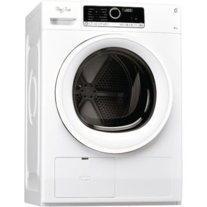 Whirlpool HSCX80110 8kg Condenser Tumble Dryer - WHITE