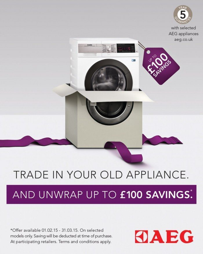 AEG Cashback Offer at Appliance City