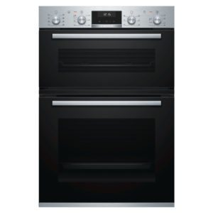 Bosch MBA5575S0B Built In Serie 6 Double Oven – STAINLESS STEEL