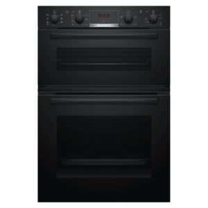 Bosch MBS533BB0B Built In Serie 4 Double Oven – BLACK