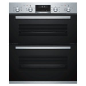 Bosch NBA5570S0B Built Under Serie 6 Double Oven – STAINLESS STEEL