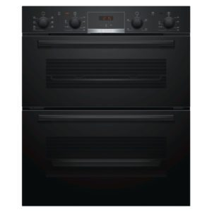 Bosch NBS533BB0B Serie 4 Built Under Double Oven – BLACK