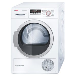 Bosch WTW85250GB 8kg Serie 4 Heat Pump Condenser Tumble Dryer - WHITE