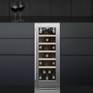 Caple WI3123 30cm Undercounter Wine Cooler - STAINLESS STEEL