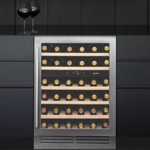Caple WI6133 60cm Undercounter Dual Zone Wine Cooler - STAINLESS STEEL
