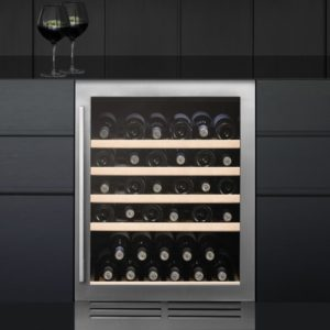 CDA FWC604BL 60cm Freestanding Under Counter Wine Cooler – BLACK