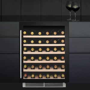 Caple WI6134 60cm Undercounter Dual Zone Wine Cooler – BLACK