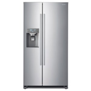 Daewoo FRAG53NP7S American Fridge Freezer Ice & Water No Plumbing – SILVER