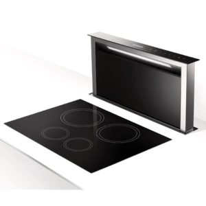 Faber FABULA PLUS EV8+ BK A90 Fabula Plus 88cm Downdraft Hood – BLACK