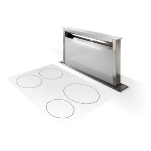 Faber FABULA PLUS EV8+ WH A90 Fabula Plus 80cm Downdraft Hood – WHITE
